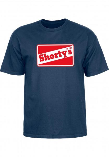 Shortys T-Shirts OG Logo navy Vorderansicht