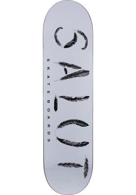 Salut Skateboards Feather Logo