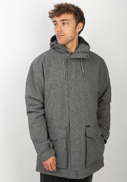 Billabong Winterjacken Alves 10K greyheather vorderansicht 0250010