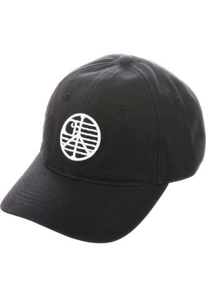 Carhartt WIP Caps Insignia black-white vorderansicht 0566971