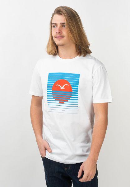 Cleptomanicx T-Shirts Setting 2 white-tigerlilly vorderansicht 0320568