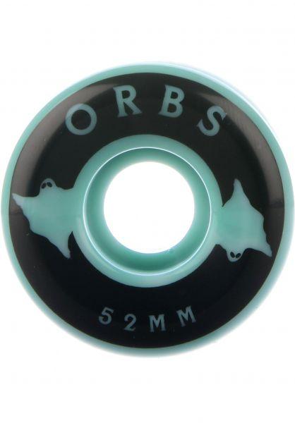 Orbs Rollen Specters Swirls 99A teal-white Vorderansicht 0134391