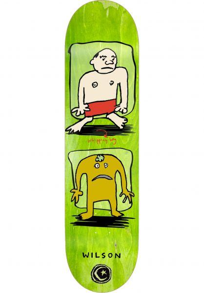 Foundation Skateboard Decks Wilson Whipping Boy natural vorderansicht 0264808