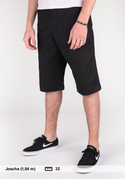 Reell Shorts Deck Short pc black Vorderansicht