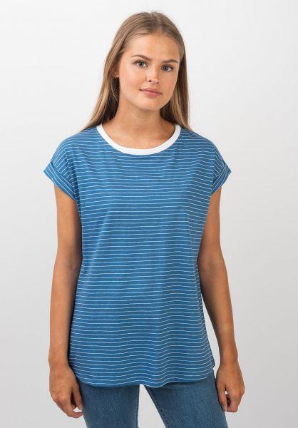 Ezekiel T-Shirts Alena blue vorderansicht 0399343