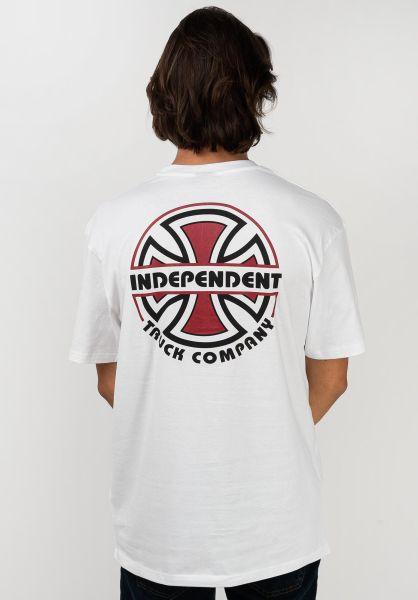 Independent T-Shirts ITC Bauhaus white vorderansicht 0321508