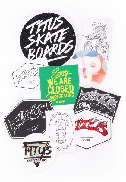 TITUS Verschiedenes Sticker Pack Set of 10 Vol. 1 no color vorderansicht 0971851