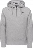 Nike SB Hoodies SB Hoodie darkgreyheather-black Vorderansicht