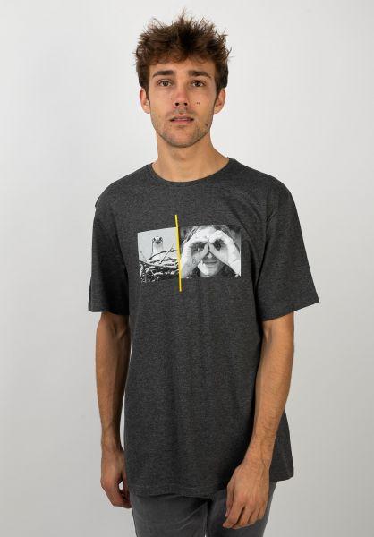 Element T-Shirts x NG Hawk Smith charcoalheather vorderansicht 0320720