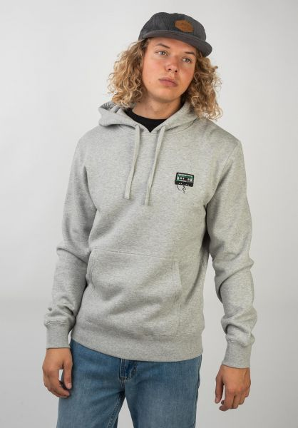 Rules Hoodies Embroidery Mixtape heathergrey vorderansicht 0445123