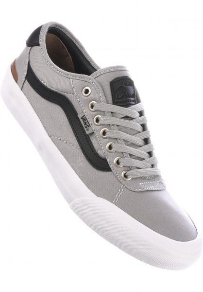 Vans Alle Schuhe Chima Pro 2 drizzle-black-white vorderansicht 0604384