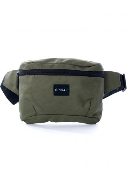 Spiral Hip-Bags Active Bum Bag olive vorderansicht 0169099