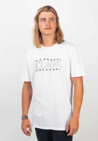 Volcom T-Shirts Sub Bar white vorderansicht 0320380