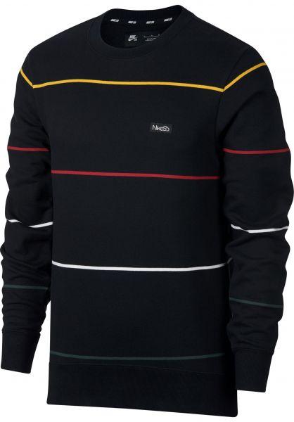 8c6d368f06d1 Nike SB Sweatshirts und Pullover SB Everett Crew black vorderansicht 0421648