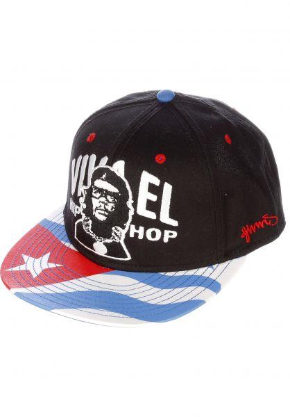 Djinns Caps 6P Snapback Viva El black Vorderansicht