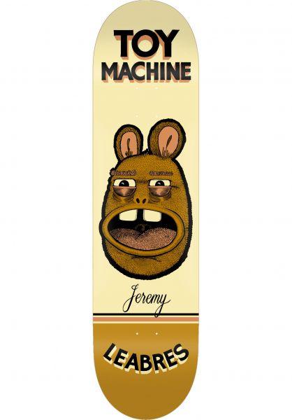 Toy-Machine Skateboard Decks Pen ´N´ Ink Series Leabres vorderansicht 0264800