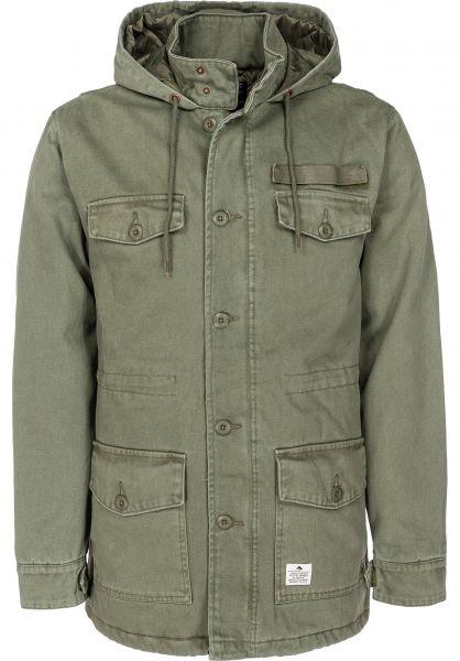 Emerica Parkas und Mäntel Morphene Jacket olive vorderansicht 0123184