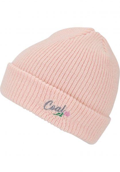 coal Mützen The Rosita pink Vorderansicht