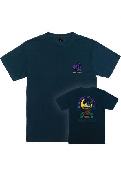 Dark Seas T-Shirts Tikie Time slate vorderansicht 0321898