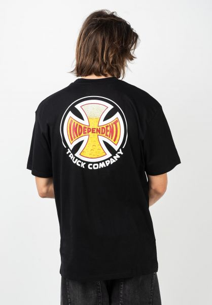 Independent T-Shirts Suds black vorderansicht 0321745