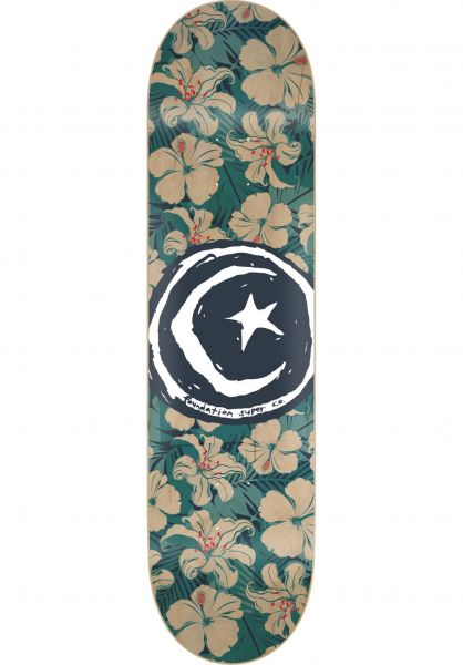 Foundation Skateboard Decks Star & Moon Tropics multicolor Vorderansicht
