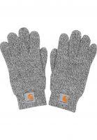 Carhartt WIP Handschuhe Scott Gloves heathergrey-white Vorderansicht