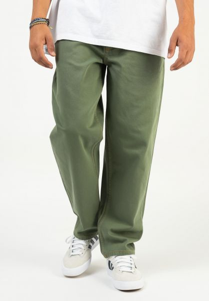 Homeboy Jeans X-Tra Baggy Twill olive vorderansicht 0401026