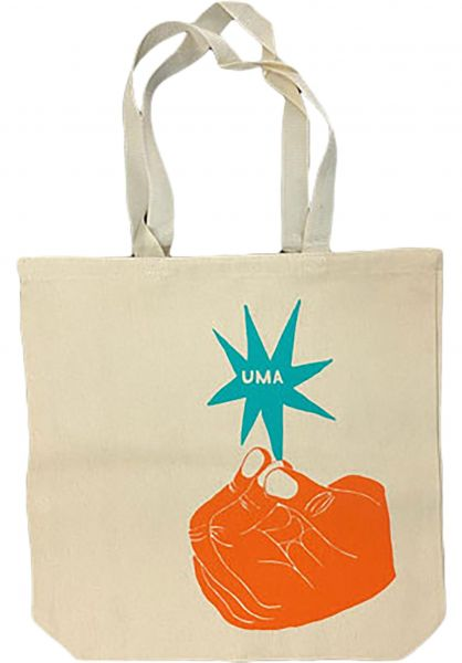 UMA Landsleds Taschen UMA Tote Bag white vorderansicht 0891690