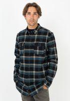 globe-hemden-langarm-flannigan-washedblack-vorderansicht-0412070