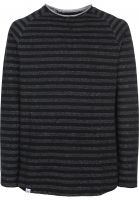 Reell-Longsleeves-Striped-black-darkgrey-Vorderansicht
