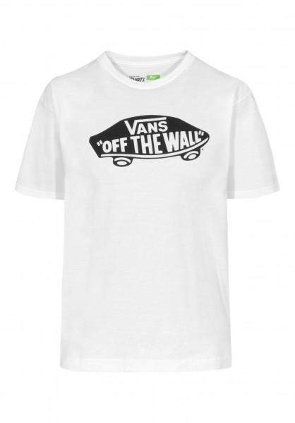 Vans T-Shirts OTW Kids white-black Vorderansicht