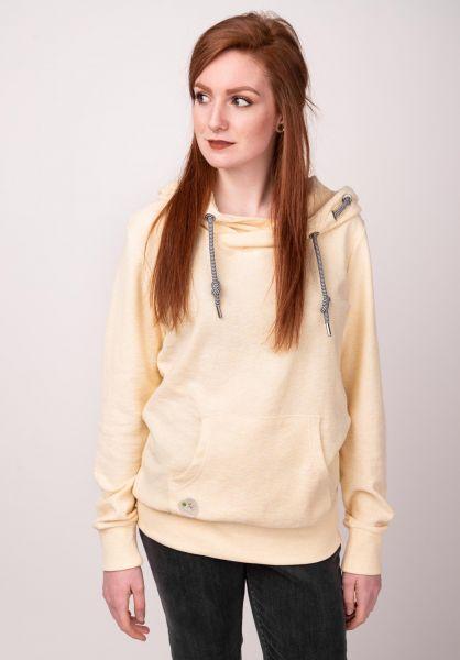 Ragwear Hoodies Chelsea B Organic yellow vorderansicht 0445138