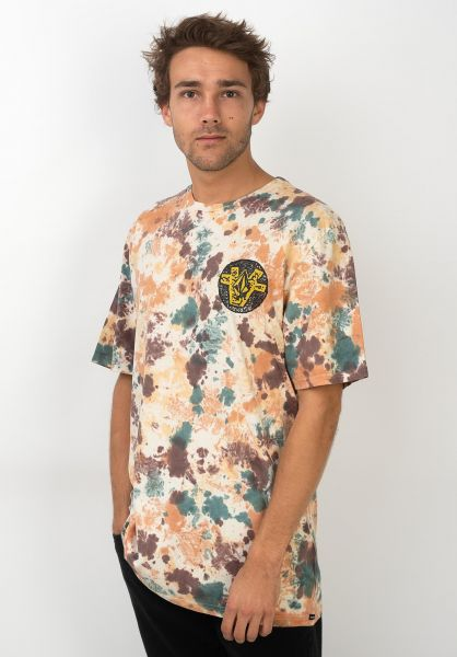 Volcom T-Shirts Roll Out multi vorderansicht 0320377