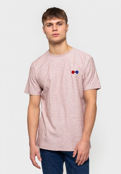 RVLT T-Shirts 1135 Pin red vorderansicht 0321073
