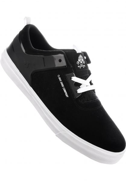 DVS Alle Schuhe Cinch CT+ black-white Vorderansicht