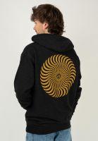 spitfire-hoodies-classic-swirl-charcoalheather-gold-vorderansicht-0444527