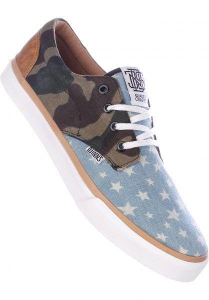 Djinns Alle Schuhe Nice Crazy Pattern star-white Vorderansicht