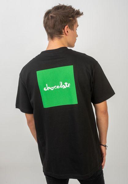 Chocolate T-Shirts OG Square black vorderansicht 0320537