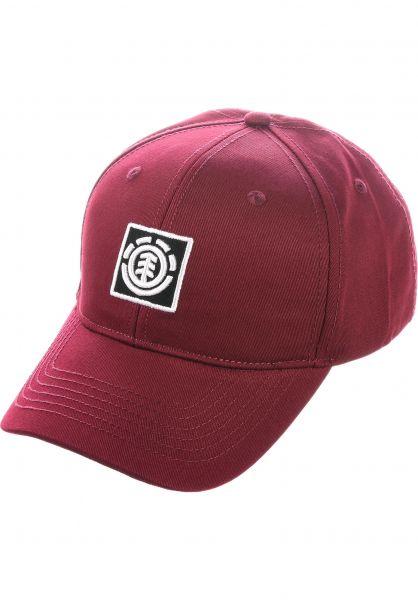 Element Caps Treelogo vintagered vorderansicht 0565252