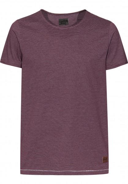 Forvert T-Shirts Smaland burgundy-white Vorderansicht