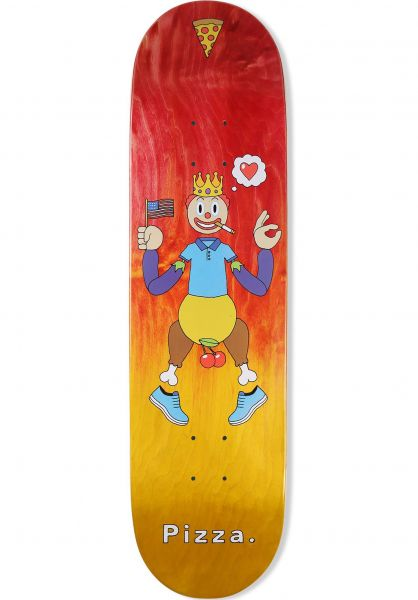 Pizza Skateboards Skateboard Decks Keyboard Warrior natural vorderansicht 0261547