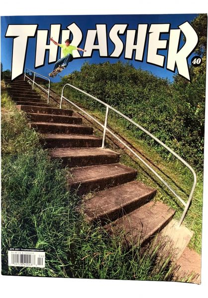 Thrasher Verschiedenes Magazine Issues 2021 April vorderansicht 0972704