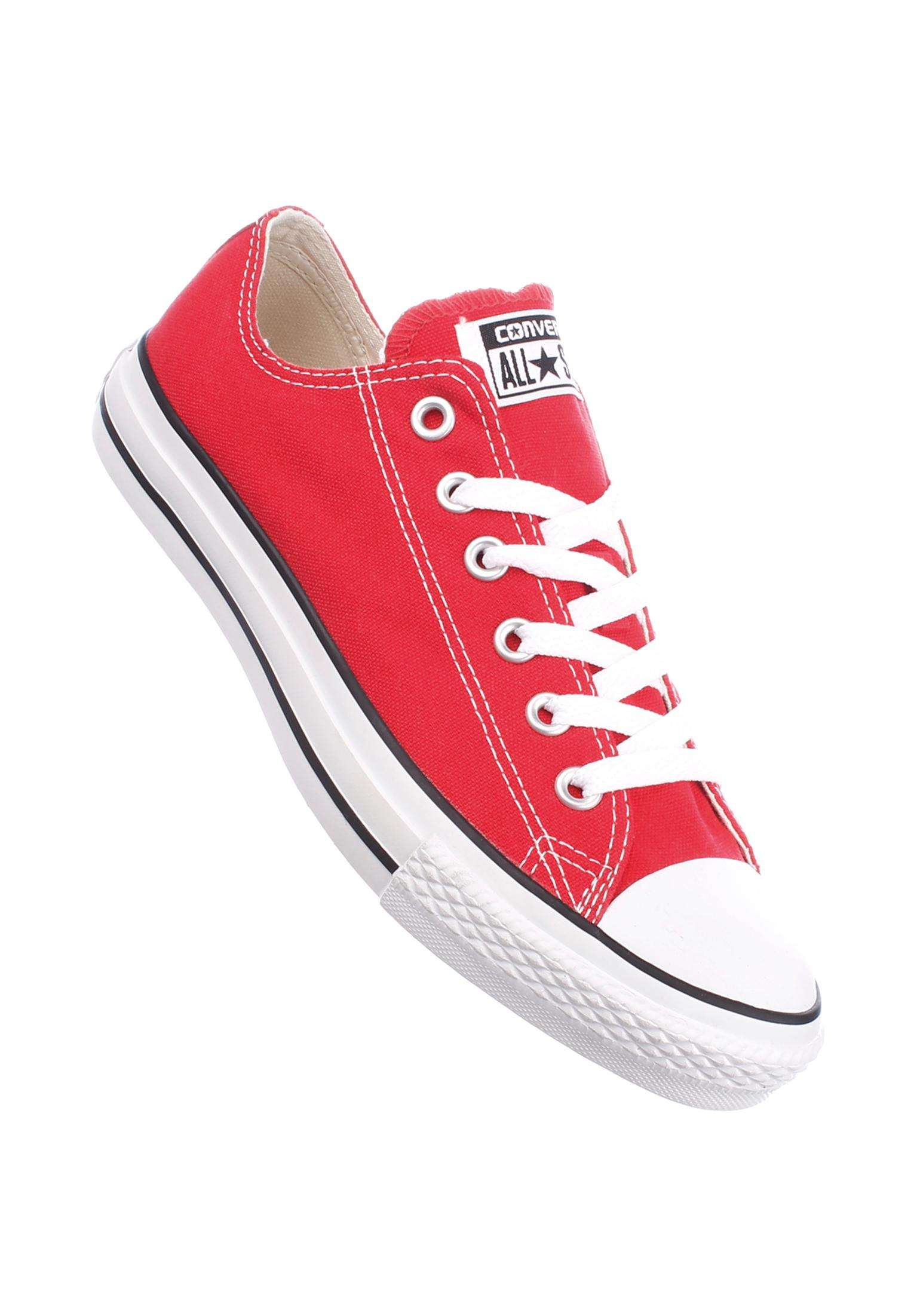 Chuck Taylor AS Ox Converse All Shoes in red for Women  73fa659955dd