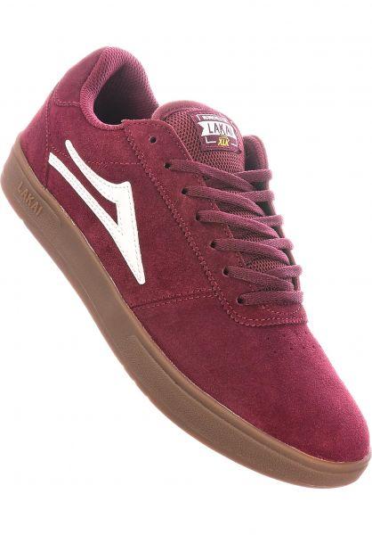 Lakai Alle Schuhe Manchester XLK burgundy vorderansicht 0602510