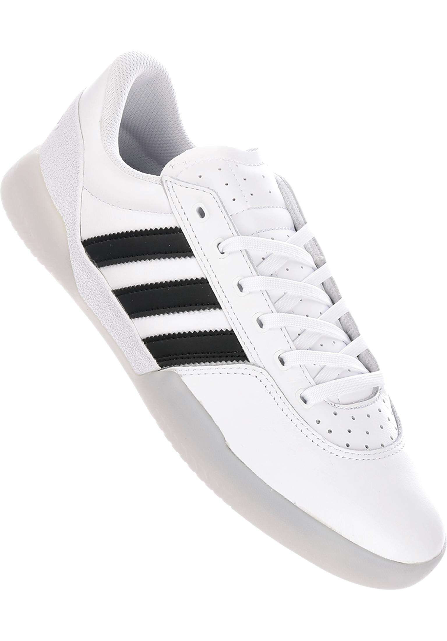cheap for discount e5bb6 92bc7 City Cup adidas-skateboarding All Shoes in white-coreblack-grey for Men   Titus