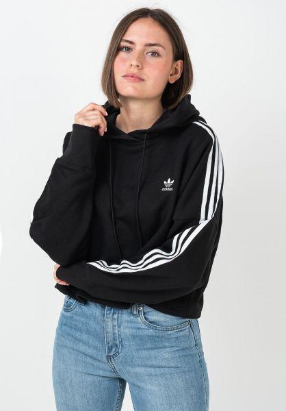 adidas Hoodies Cropped black vorderansicht 0445926