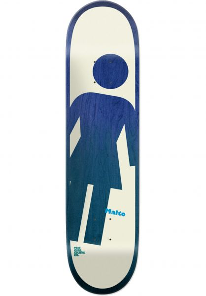 Girl Skateboard Decks Malto OG Tilt A Girl multicolored vorderansicht 0261753