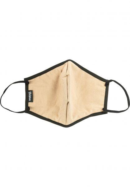 Brixton Verschiedenes Antimicrobial Face Mask khaki vorderansicht 0972591