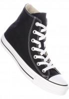 Converse-Alle-Schuhe-Chuck-Taylor-Allstar-Hi-black-Vorderansicht