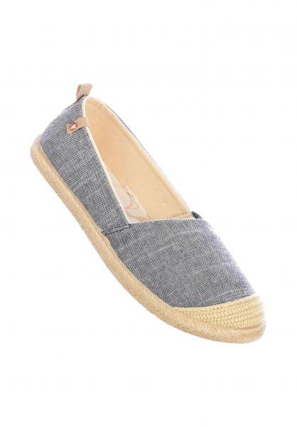 Roxy Alle Schuhe Flora II blue-indigo vorderansicht 0612441